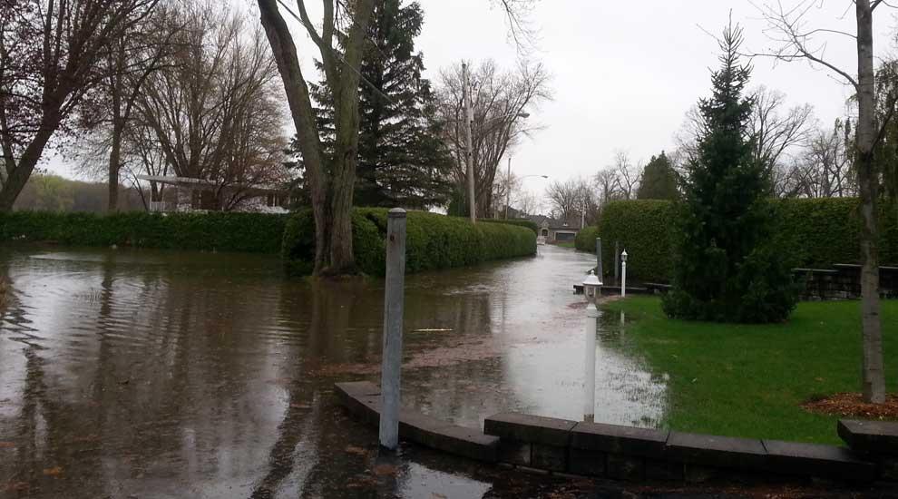 Ville de saint-Eustache - Suivi des inspections des ponts suite aux inondations