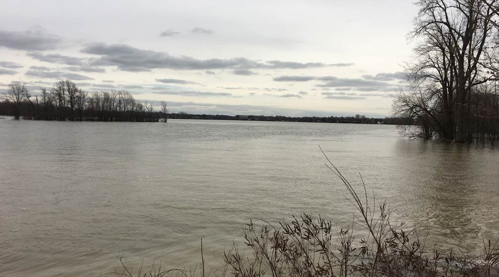 Ville de saint-Eustache - Rivière des Mille Îles à Saint-Eustache : les risques d'inondations diminuent